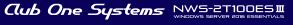 Club One Systems NWS-2T100ES3